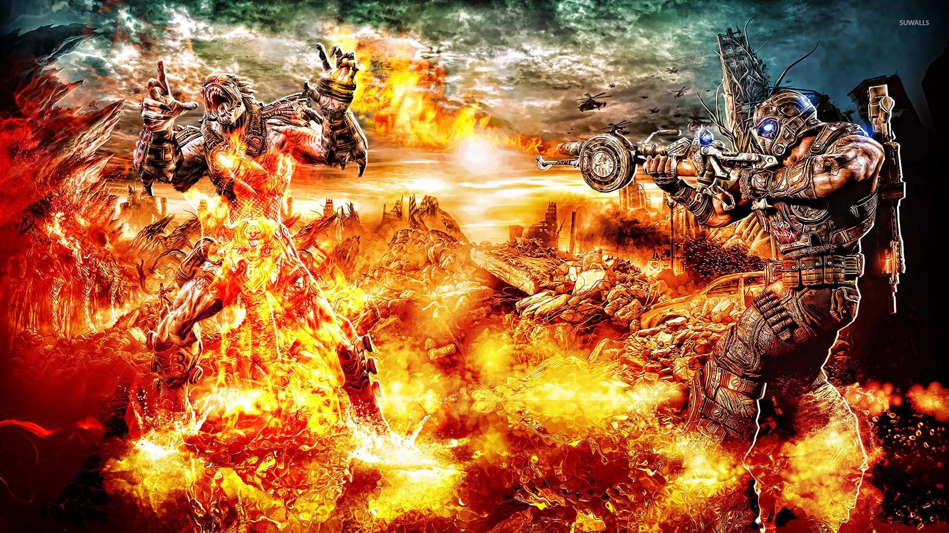 gears of war 3 10 wallpaper game wallpapers 18882