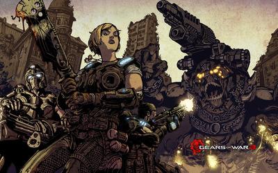 Gears of War 3 [19] wallpaper