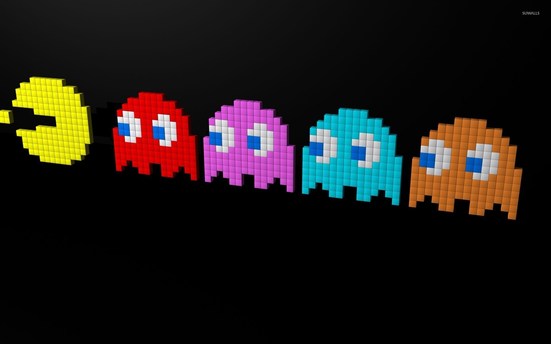 pacman wallpaper for walls