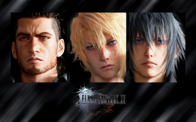 Gladiolus, Prompto and Noctis - Final Fantasy XV wallpaper