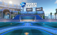 Goal in the Utopia Coliseum - Rocket League wallpaper 2560x1600 jpg