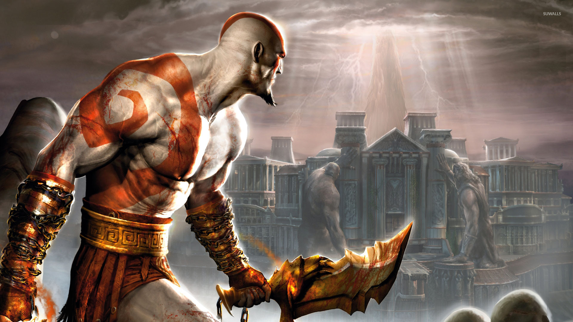 God Of War 2 Wallpaper Game Wallpapers 393