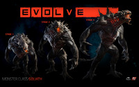 Goliath - Evolve wallpaper 2880x1800 jpg