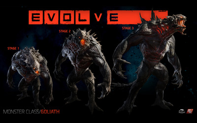 Goliath - Evolve wallpaper