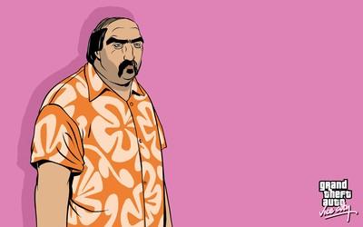 Gonzales in a hawaiian shirt wallpaper