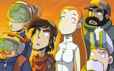 Goodbye Deponia wallpaper