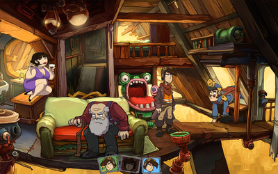 Goodbye Deponia [5] wallpaper