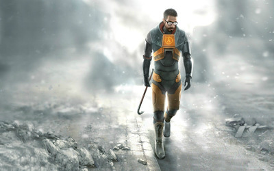Gordon Freeman - Half-Life 2 wallpaper