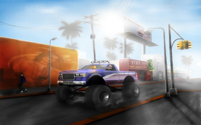 Grand Theft Auto: San Andreas wallpaper
