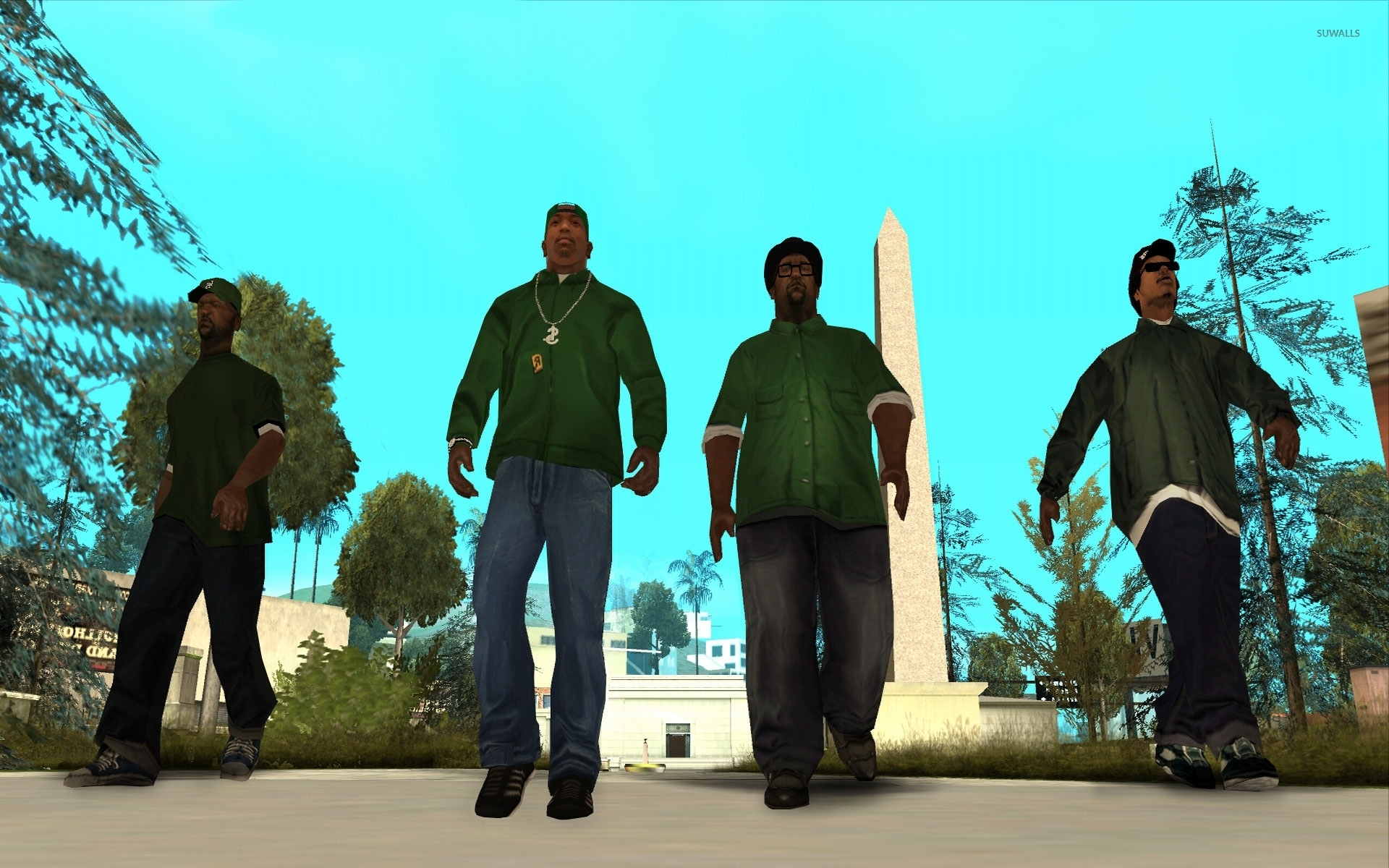 Grand Theft Auto San Andreas 2 Wallpaper Game Wallpapers 45647
