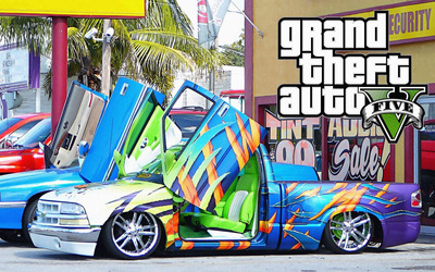 Grand Theft Auto V [5] wallpaper