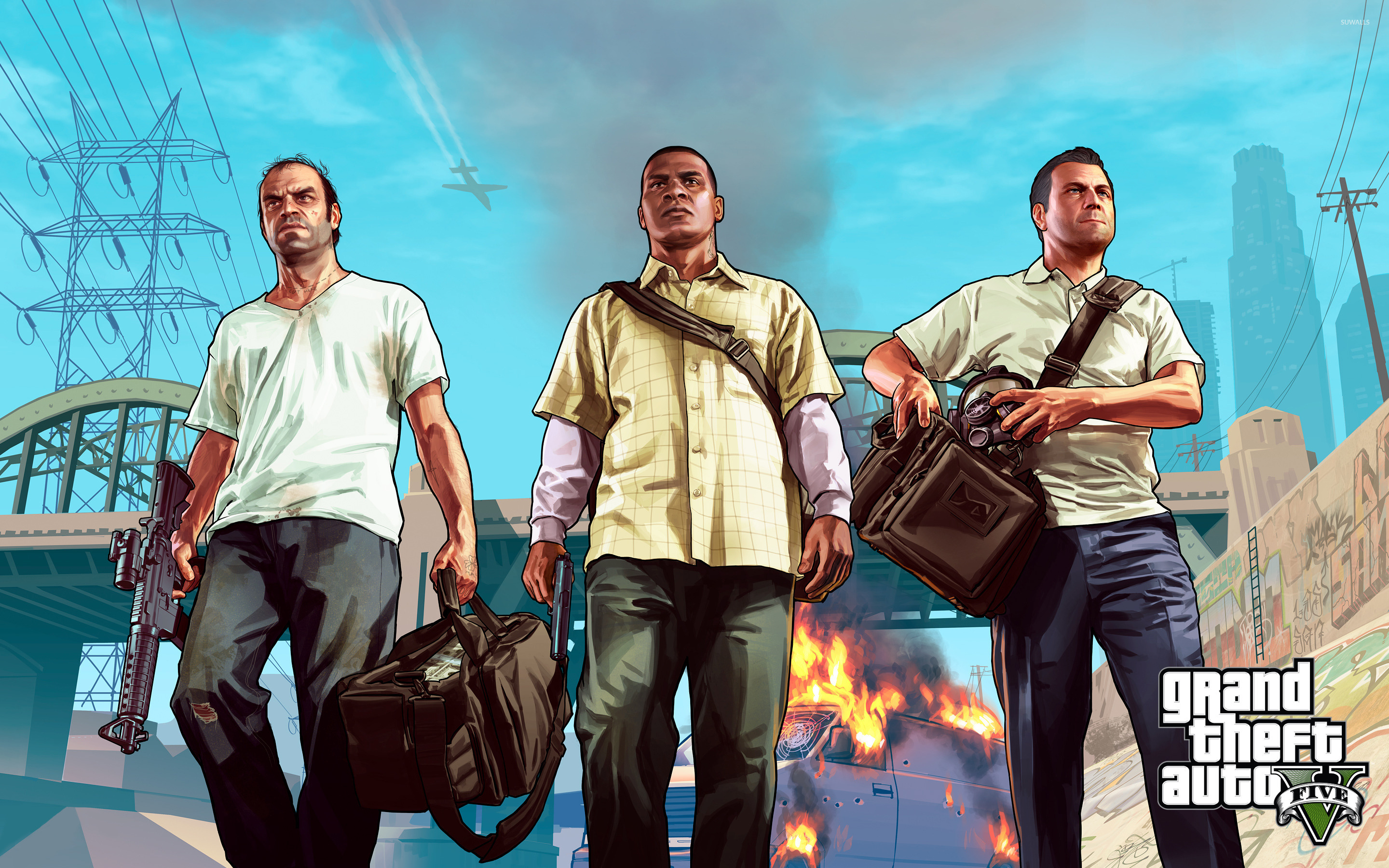 Grand Theft Auto V 3 Wallpaper Game Wallpapers 16892