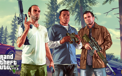 Grand Theft Auto V [6] wallpaper