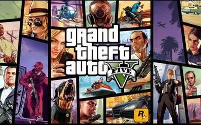 Grand Theft Auto V [4] wallpaper