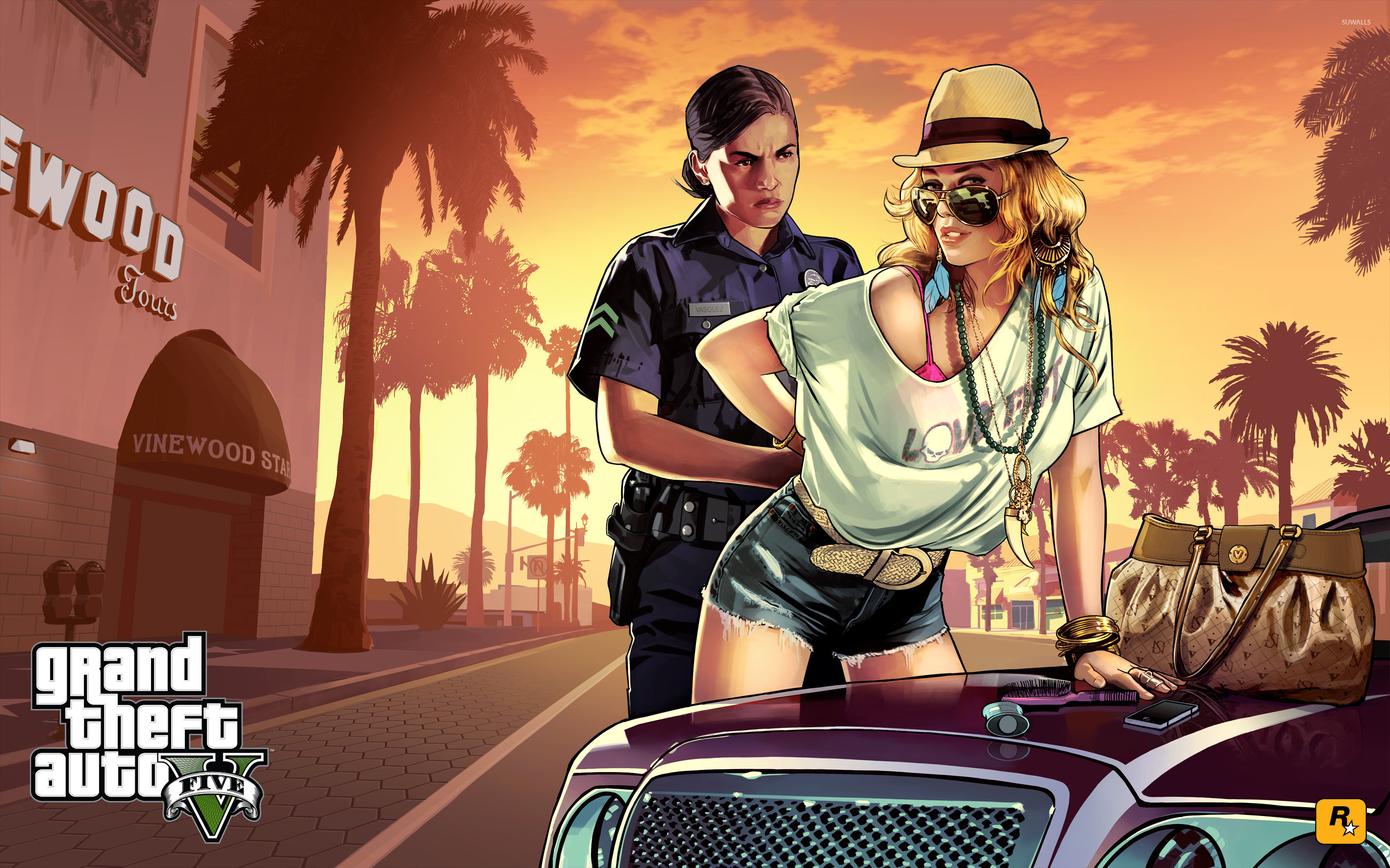 Grand Theft Auto V [13] wallpaper