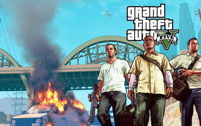 Grand Theft Auto V [14] wallpaper