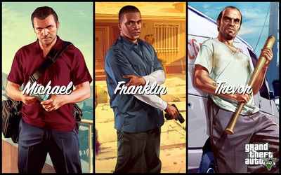Grand Theft Auto V [15] wallpaper