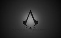 Gray Assassin's Creed logo wallpaper 1920x1080 jpg