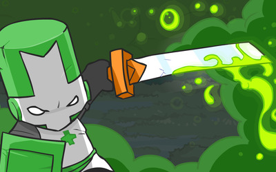 Green Knight - Castle Crashers wallpaper