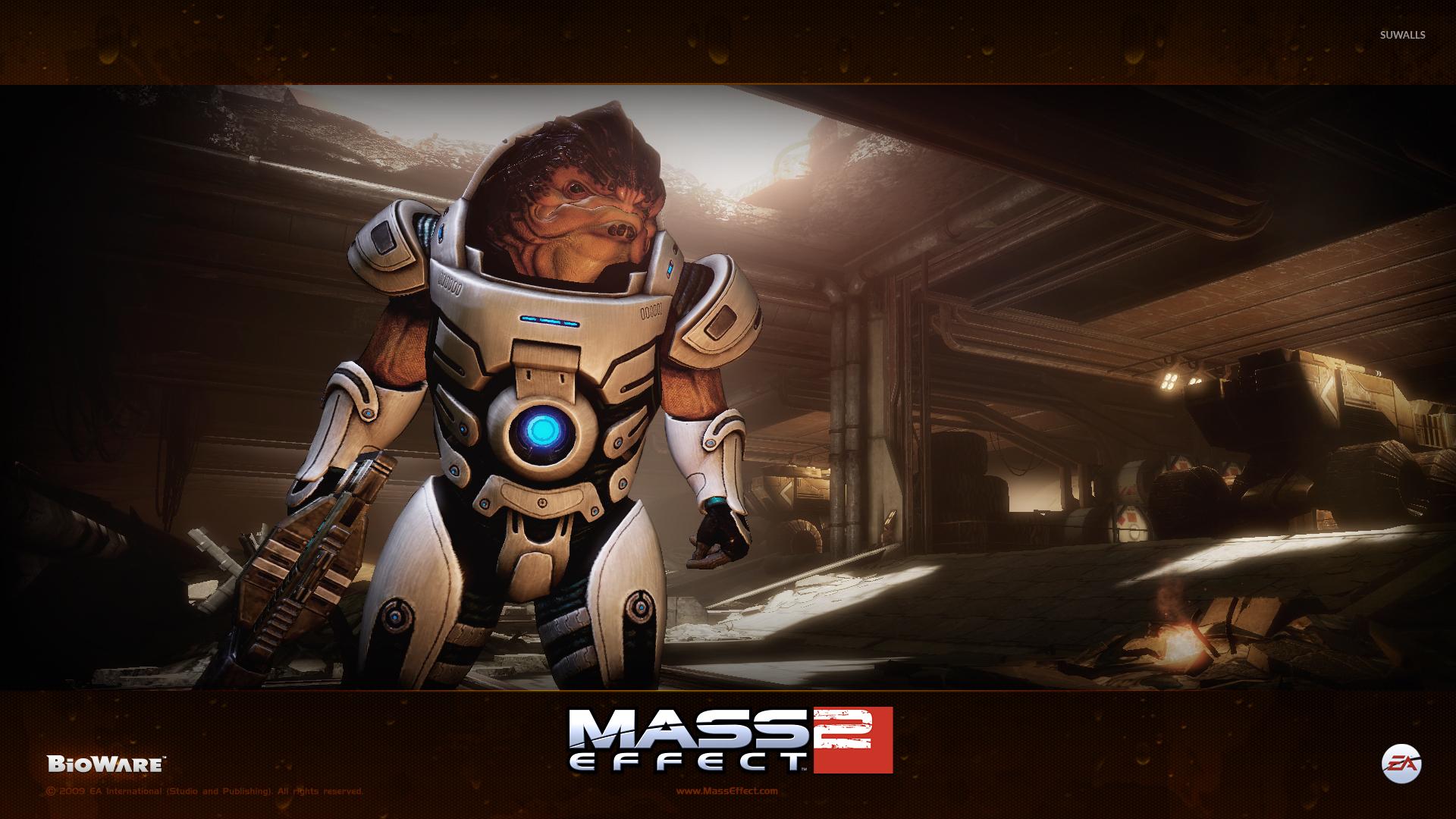 Grunt Mass Effect 2 Wallpaper Game Wallpapers 7298