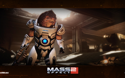 Grunt - Mass Effect 2 wallpaper