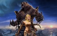 Guild Wars female warrior wallpaper 1920x1200 jpg