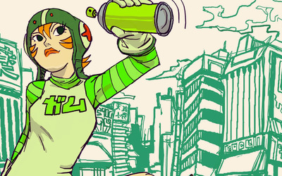 Gum - Jet Set Radio wallpaper