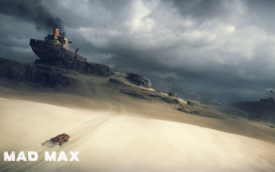 Heading to Gutgash's Stronghold - Mad Max wallpaper