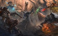 Heroes in Diablo III wallpaper 2560x1600 jpg