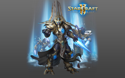 Hierarch Artanis in StarCraft II: Legacy of the Void wallpaper