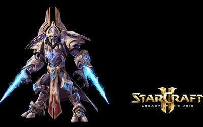 Hierarch Artanis - StarCraft II: Legacy of the Void wallpaper
