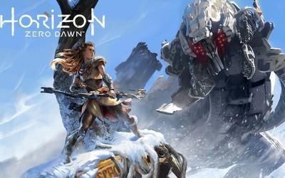 Frozen Horizon Zero Dawn wallpaper