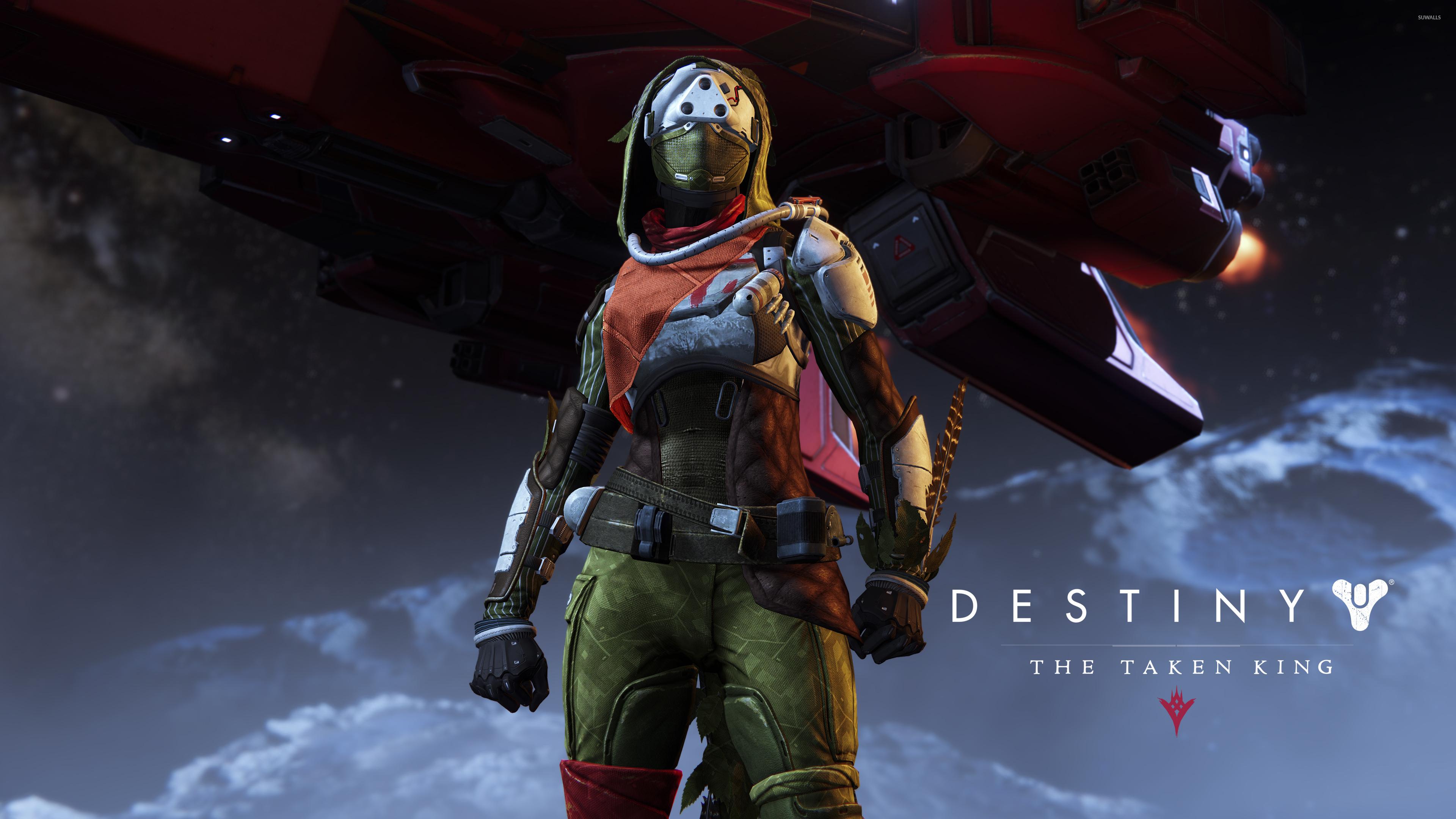 hunter female destiny the taken king wallpaper game
