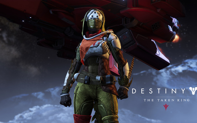 Hunter female - Destiny: The Taken King wallpaper