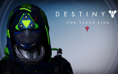 Hunter female helmet - Destiny: The Taken King wallpaper