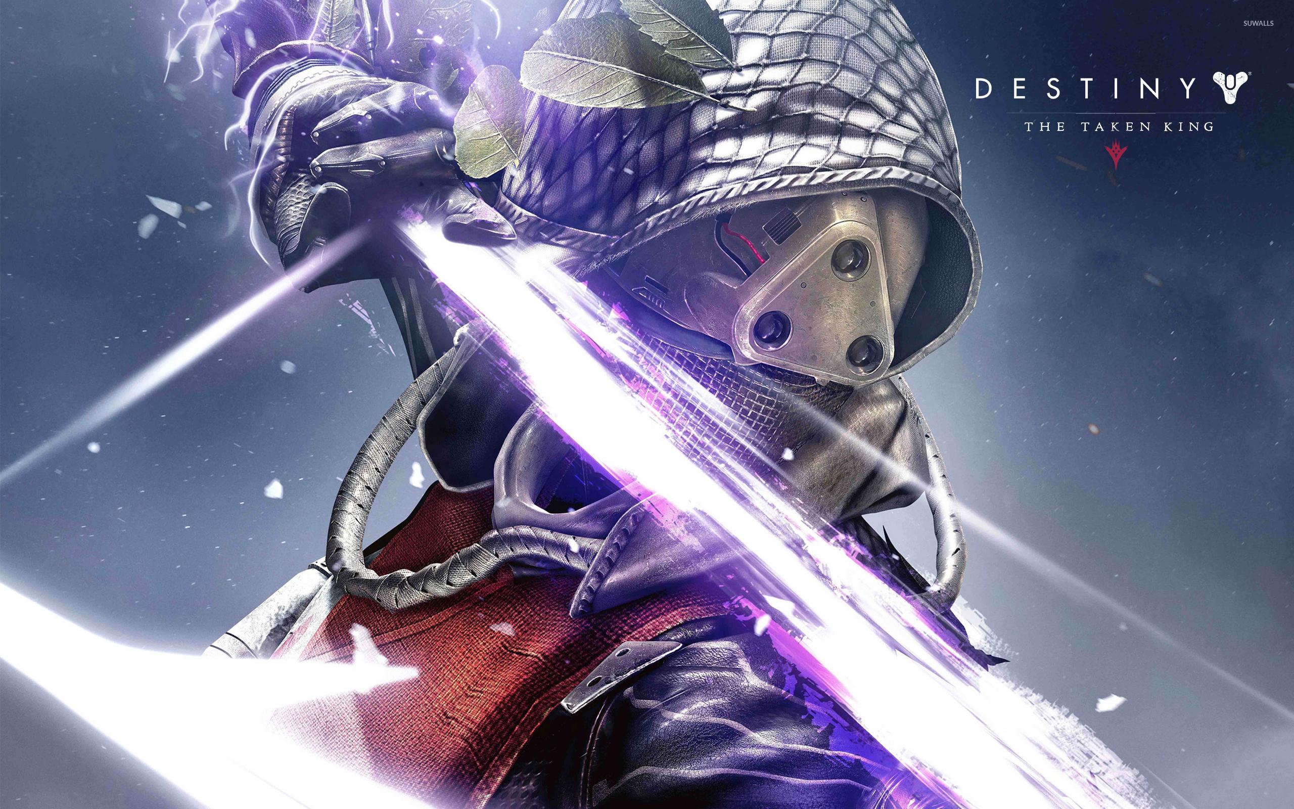 Hunter female in Destiny The Taken King wallpaper Game