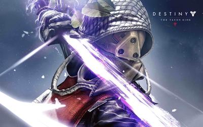 Hunter female in Destiny: The Taken King wallpaper