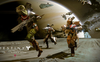 Hunter, Titan and Warlock - Destiny: The Taken King wallpaper 3840x2160 jpg