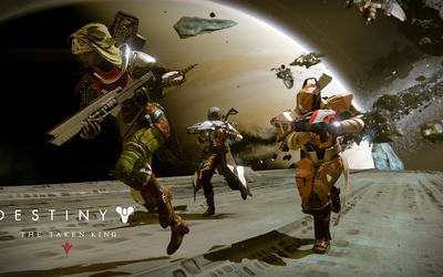 Hunter, Titan and Warlock - Destiny: The Taken King wallpaper