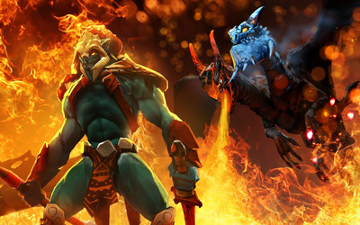 Huskar - Dota 2 wallpaper
