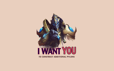 I want you to construct additional pylons wallpaper
