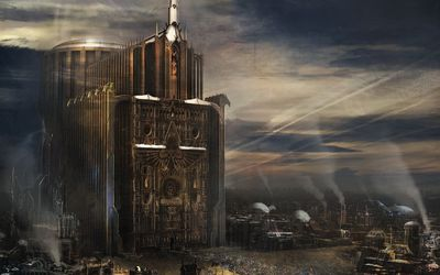 Imperial cathedral - Warhammer 40,000 wallpaper