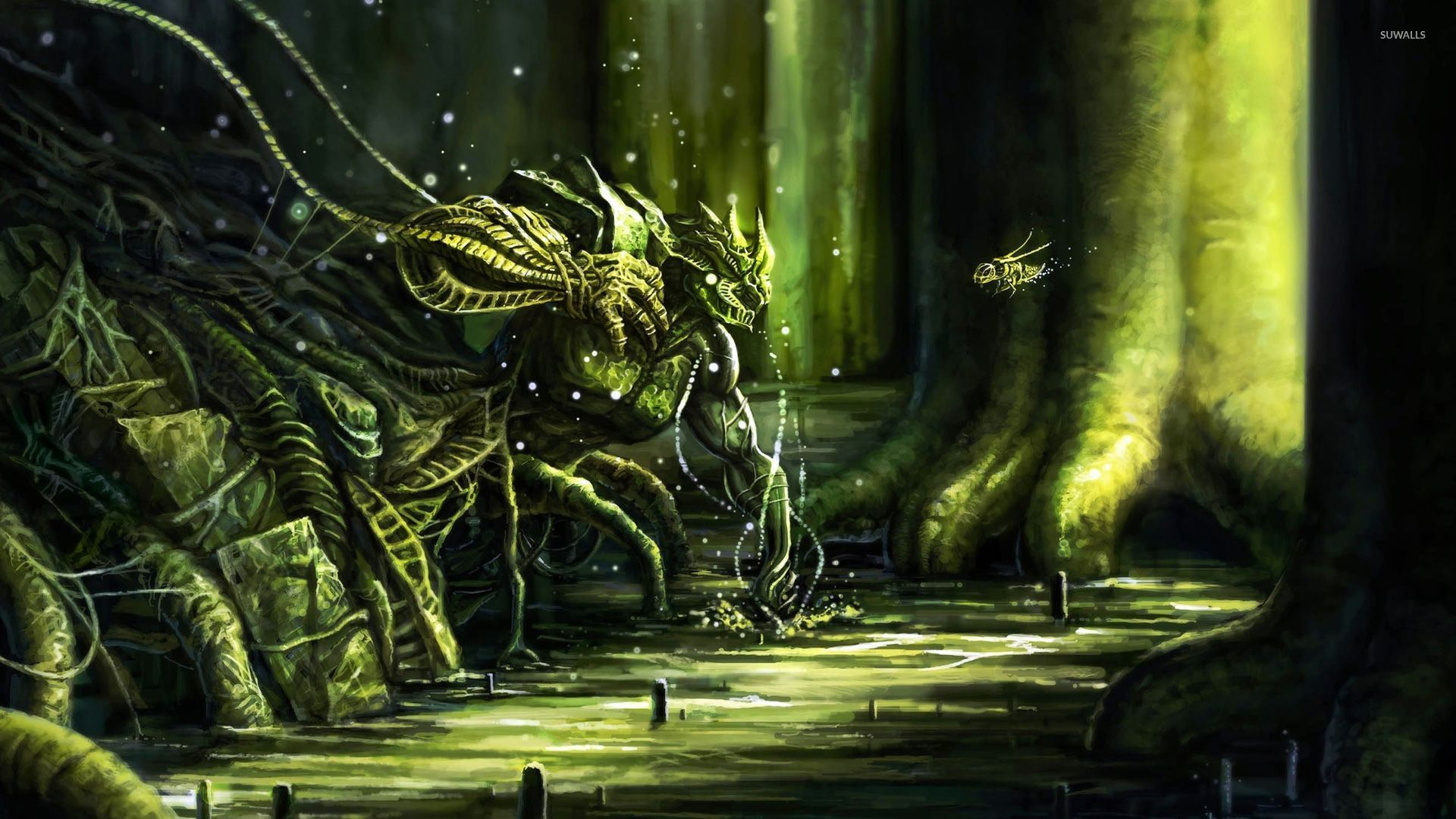 Insect matriarch final fantasy wallpaper game wallpapers 25944 insect matriarch final fantasy wallpaper voltagebd Gallery