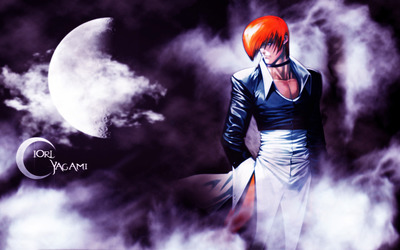 Iori Yagami - The King of Fighters wallpaper