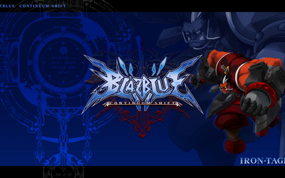 Iron Tager - BlazBlue: Continuum Shift wallpaper