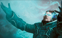 Jace, the Mind Sculptor - Magic: The Gathering [2] wallpaper 2560x1440 jpg