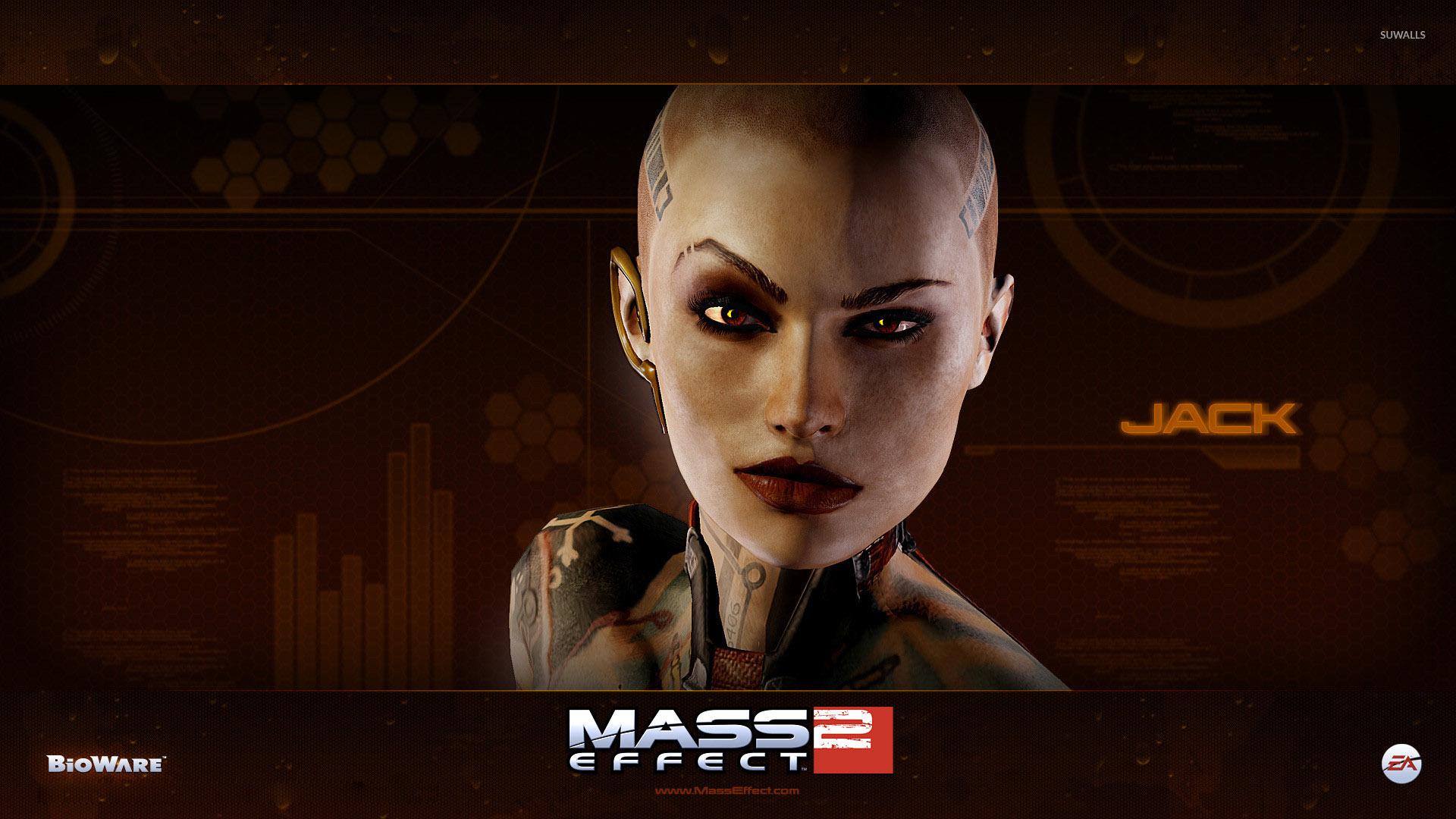 Jack Mass Effect 3 Wallpaper Game Wallpapers 29563