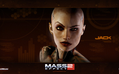 Jack - Mass Effect 3 wallpaper