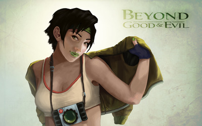 Jade - Beyond Good and Evil wallpaper
