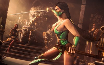Jade - Mortal Kombat wallpaper